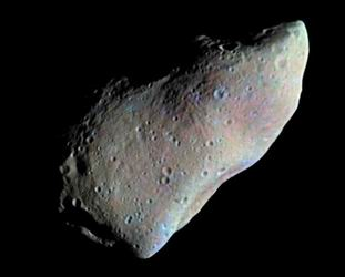 Photo of the asteroid Gaspra