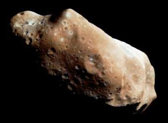 Photo of the asteroid Ida