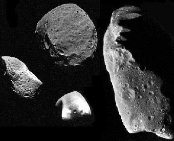 Visualization photo of the Asteroids