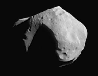 Photo of the asteroid Mathilde